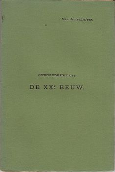 DEYSSEL, LODEWIJK VAN - Rembrandt en het Rembrandt-Feest in 1906. Overgedrukt uit De XXe Eeuw.