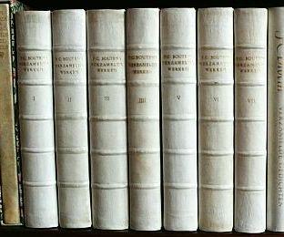 BOUTENS, P.C. - Verzamelde werken. (Collected works, full vellum edition).