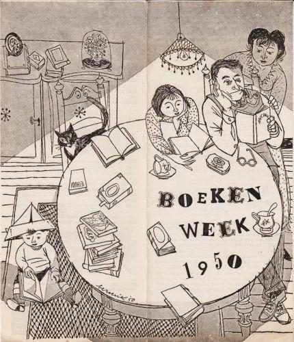 BOEKENWEEK 1950 - Boekenweek 1950.